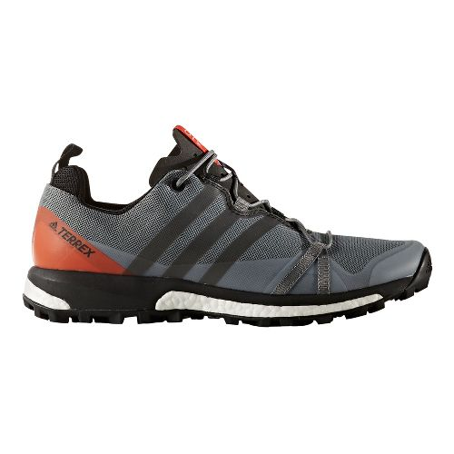 Mens adidas Terrex Agravic Trail Running Shoe - Black/Energy 8