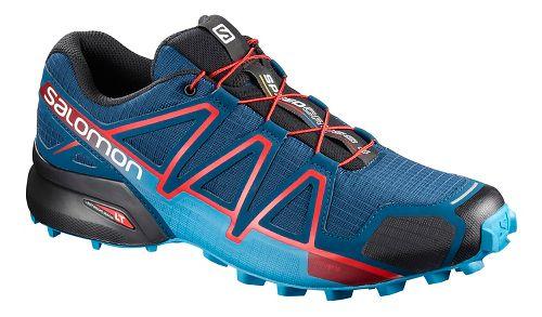 Mens Salomon Speedcross 4 Trail Running Shoe - Fiery Red 13