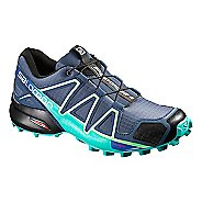 Womens Salomon Speedcross 4 Trail Running Shoe - Slate Blue 8