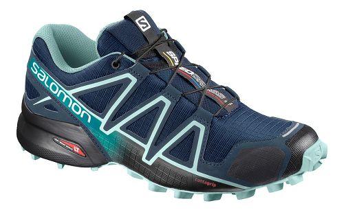 Womens Salomon Speedcross 4 Trail Running Shoe - Nasturtium 6.5