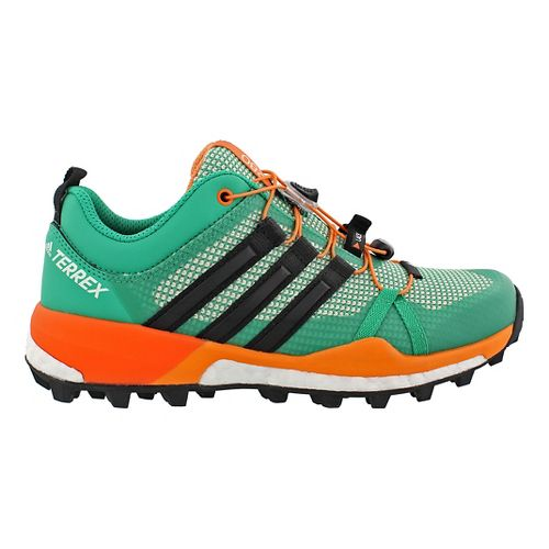 Womens adidas Terrex Skychaser Trail Running Shoe - Green/Coral 7