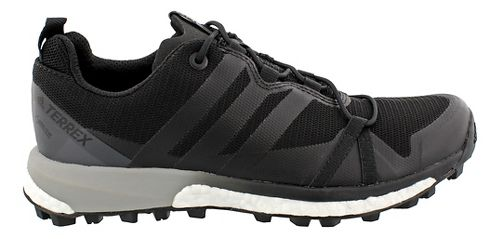 Womens adidas Terrex Agravic GTX Trail Running Shoe - Black/Black 10.5