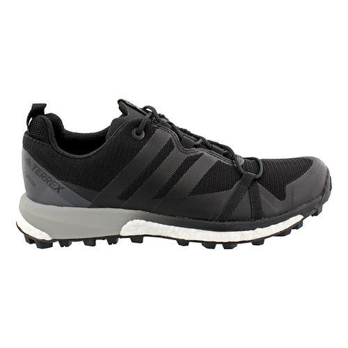 Womens adidas Terrex Agravic GTX Trail Running Shoe - Black/Black 7