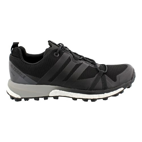 Womens adidas Terrex Agravic GTX Trail Running Shoe - Black/Black 7.5