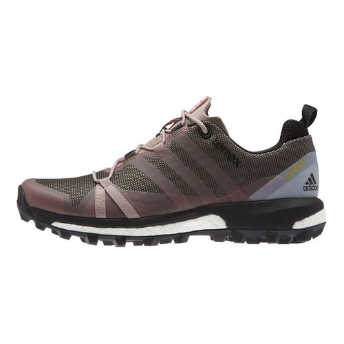 Womens adidas Terrex Agravic GTX Trail Running Shoe - Grey/Black 8.5