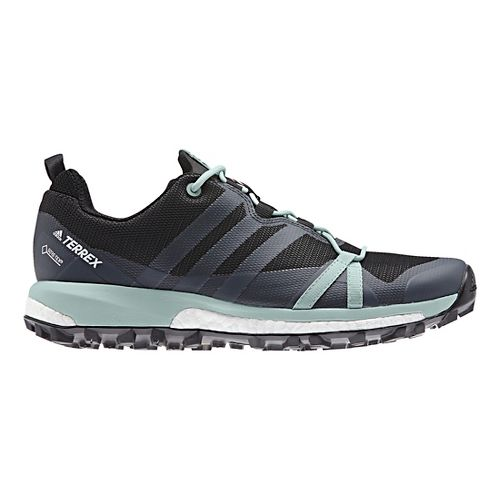 Womens adidas Terrex Agravic GTX Trail Running Shoe - Dark Grey 9.5