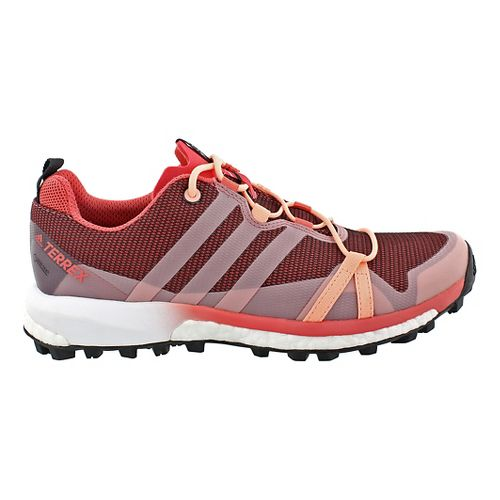 Womens adidas Terrex Agravic GTX Trail Running Shoe - Blush/Black 6