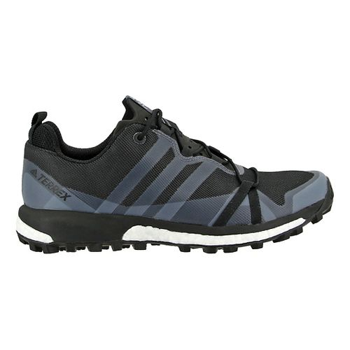 Womens adidas Terrex Agravic Trail Running Shoe - Black/Black 9.5