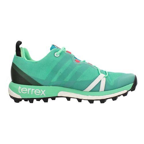 Womens adidas Terrex Agravic Trail Running Shoe - Shock Green 10