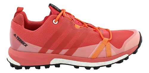 Womens adidas Terrex Agravic Trail Running Shoe - Pink 10.5