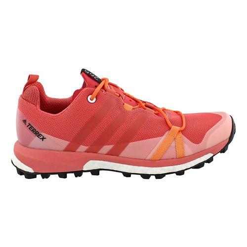 Womens adidas Terrex Agravic Trail Running Shoe - Pink 8