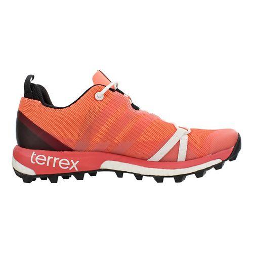 Womens adidas Terrex Agravic Trail Running Shoe - Sun Glow 7.5