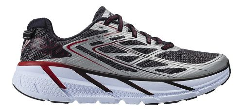 Mens Hoka One One Clifton 3 Running Shoe - Silver 9