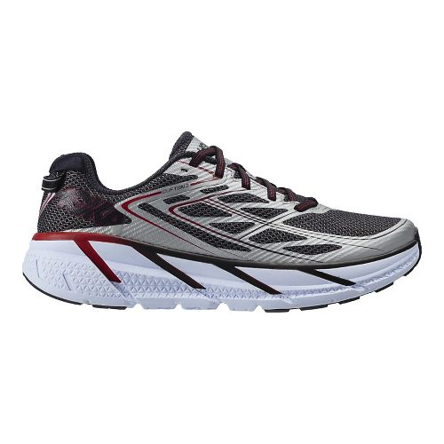 Mens Hoka One One Clifton 3 Running Shoe - Silver 10