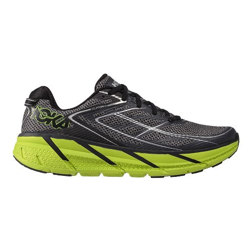 Mens Hoka One One Clifton 3 Running Shoe - Blue/Green 7