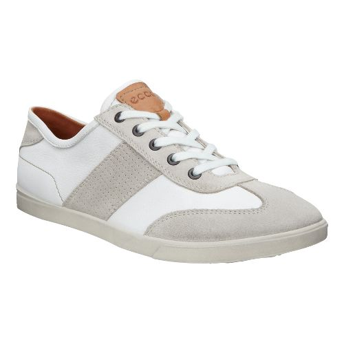 Mens Ecco Collin Retro Sneaker Casual Shoe - Gravel 47