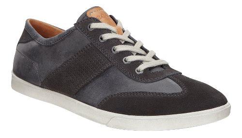 Mens Ecco Collin Retro Sneaker Casual Shoe - Moonless/Moonless 40