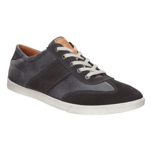 Mens Ecco Collin Retro Sneaker Casual Shoe - Moonless/Moonless 45