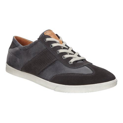 Mens Ecco Collin Retro Sneaker Casual Shoe - Moonless/Moonless 47