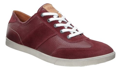Mens Ecco Collin Retro Sneaker Casual Shoe - Port 47