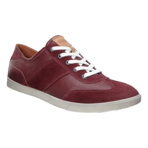 Mens Ecco Collin Retro Sneaker Casual Shoe - Port 46