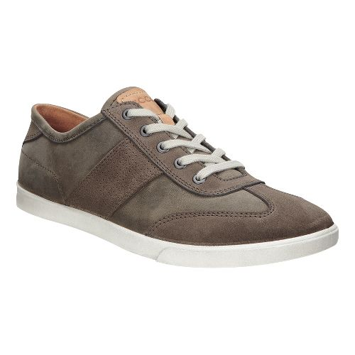 Mens Ecco Collin Retro Sneaker Casual Shoe - Dark Clay/Tarmac 39