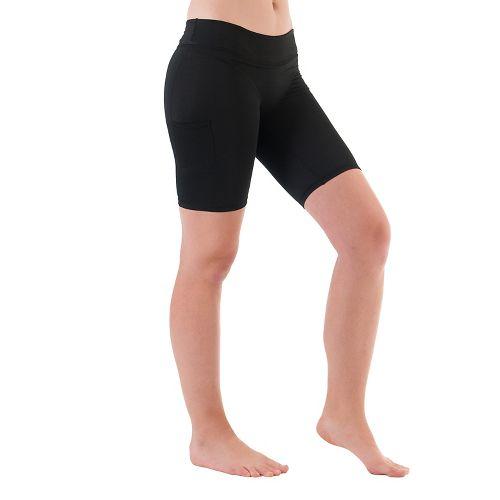 Womens Skirt Sports Shorties 8 inch Unlined Shorts - Black M