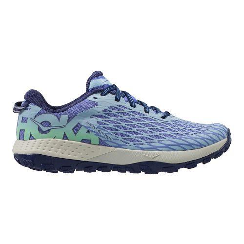 Womens Hoka One One Speed Instinct Trail Running Shoe - Blue/Purple 8.5