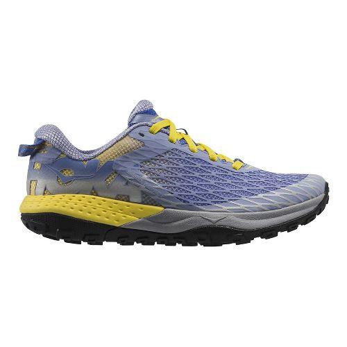 Womens Hoka One One Speed Instinct Trail Running Shoe - Ultra Marine/Auroa 5