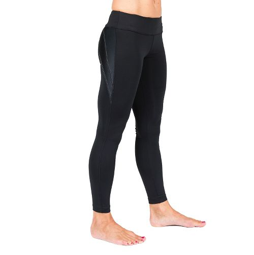 Womens Skirt Sports Go the Distance Tights & Leggings Pants - Black M