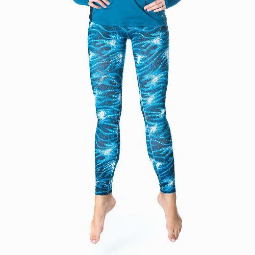 Womens Skirt Sports Go the Distance Tights & Leggings Pants - Stargaze Print M