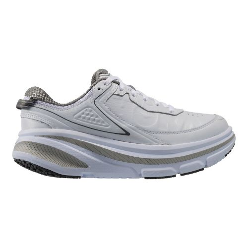 Mens Hoka One One Bondi 4 LTR Walking Shoe - White 12