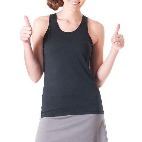 Womens Skirt Sports Don't Sweat It Sleeveless & Tank Technical Tops - Black XS