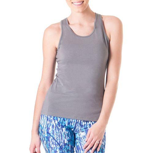 Womens Skirt Sports Don't Sweat It Sleeveless & Tank Technical Tops - Sterling XL