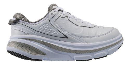 Womens Hoka One One Bondi 4 LTR Walking Shoe - White 5