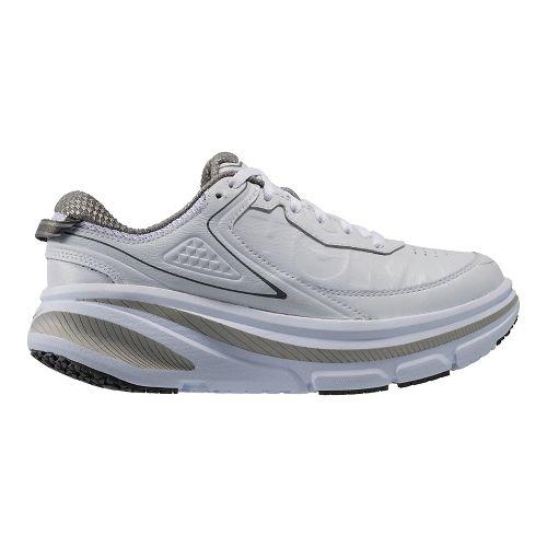 Womens Hoka One One Bondi 4 LTR Walking Shoe - White 6