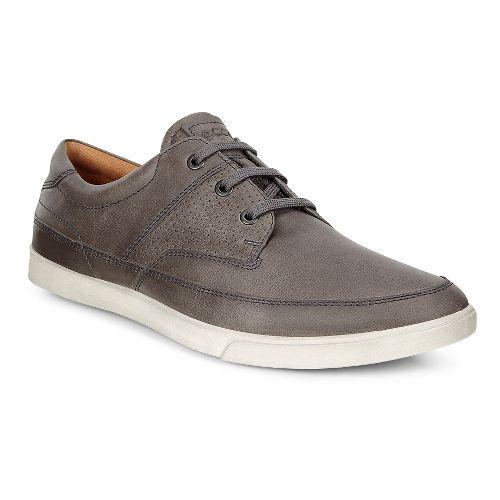 Mens Ecco Collin Nautical Perf Casual Shoe - Titanium 39