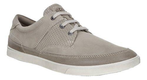Mens Ecco Collin Nautical Perf Casual Shoe - Warm Grey 46