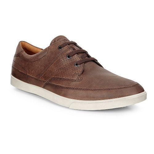 Mens Ecco Collin Nautical Perf Casual Shoe - Cocoa Brown 47