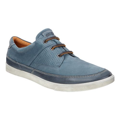 Mens Ecco Collin Nautical Perf Casual Shoe - Marine 46
