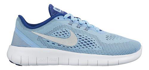 Kids Nike Free RN Running Shoe - Blue 7Y