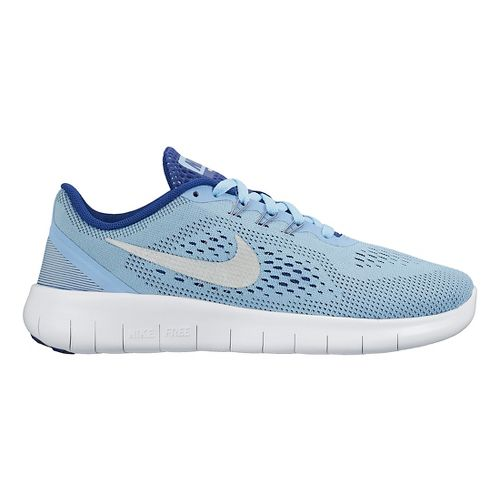 Kids Nike Free RN Running Shoe - Blue 7Y