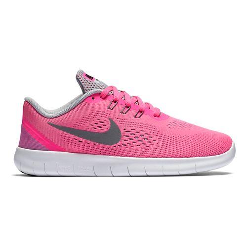 Kids Nike Free RN Running Shoe - Pink 7Y