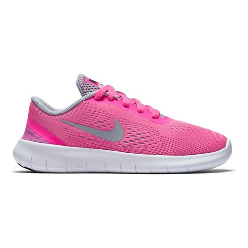 Kids Nike Free RN Running Shoe - Grey/Pink 2Y