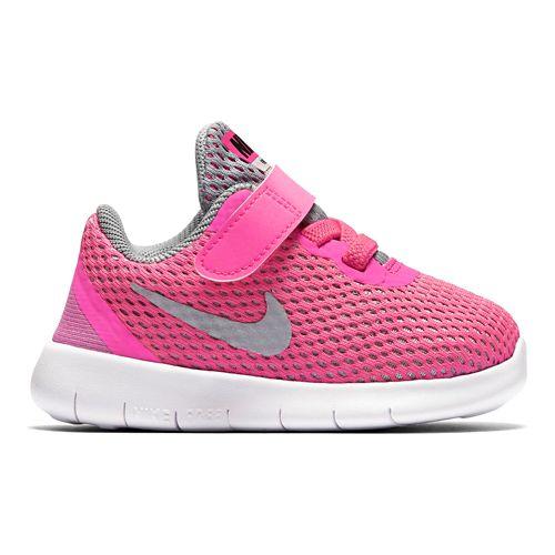 Kids Nike Free RN Running Shoe - Pink 6C