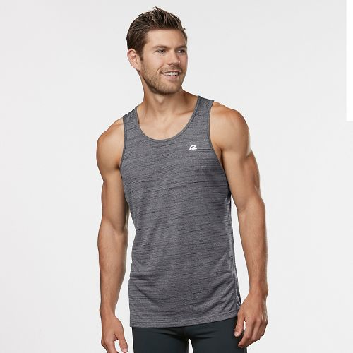 Mens Road Runner Sports Runner's High Printed Singlet Sleeveless & Tank Technical Tops - Steel ...