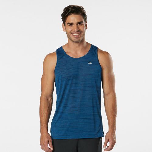 Mens Road Runner Sports Runner's High Printed Singlet Sleeveless & Tank Technical Tops - Amber ...