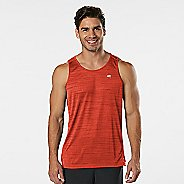 Mens Road Runner Sports Runner's High Printed Singlet Sleeveless & Tank Technical Tops