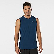 Mens Road Runner Sports Runner's High Printed Sleeveless & Tank Technical Tops
