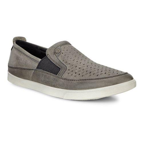 Mens Ecco Collin Perf Slip-On Casual Shoe - Wild Dove 41